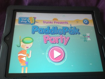 Trunki Paddlepak Party App