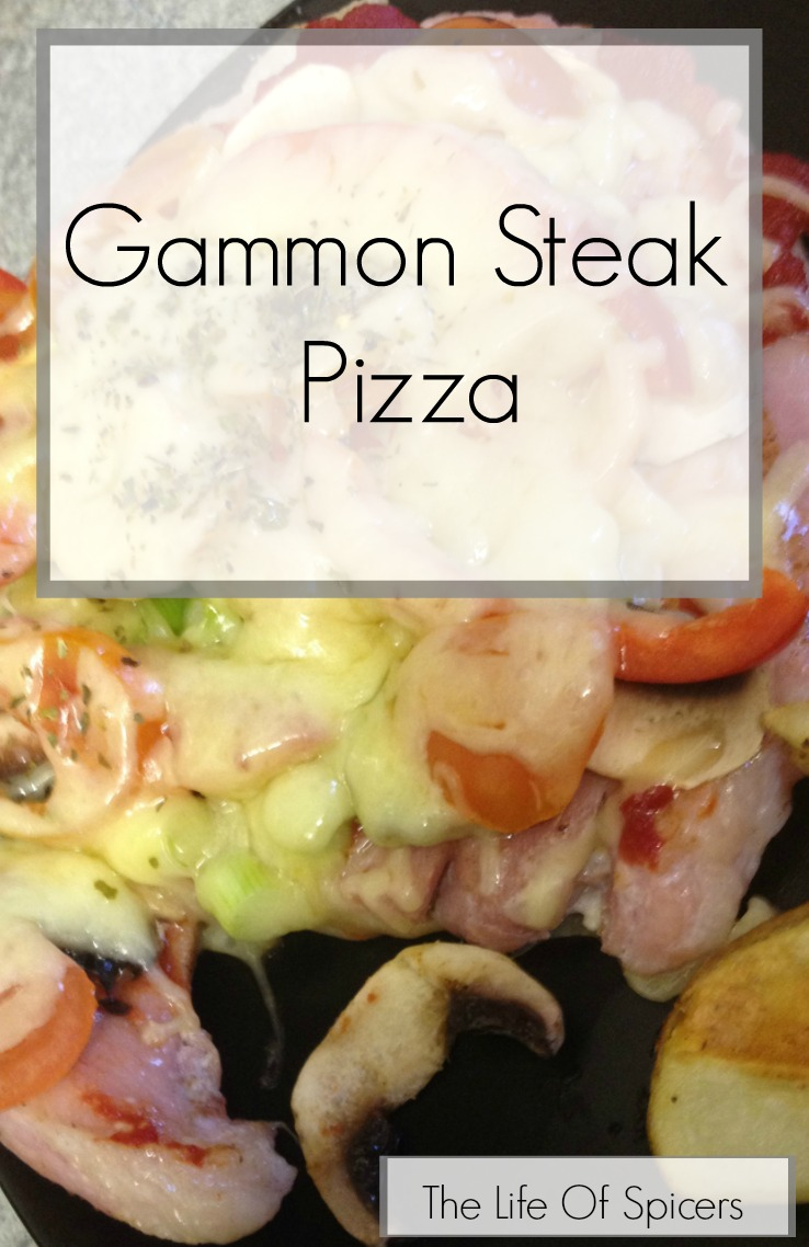 Gammon Steak Pizza