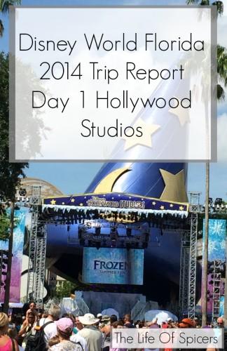 Disney World Florida 2014 Holiday Day 1 Hollywood Studios