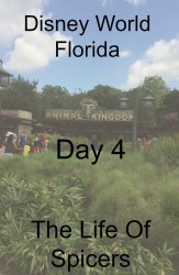 Disney World Florida Holiday 2014 Day 4 Animal Kingdom The Life Of Spicers