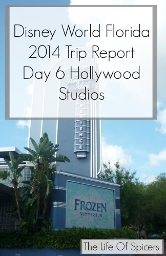 Disney World Florida 2014 Holiday Day 6 Hollywood Studios