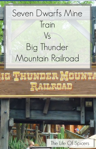 Seven Dwarfs Mine Train Vs Big Thunder Mountain Railroad