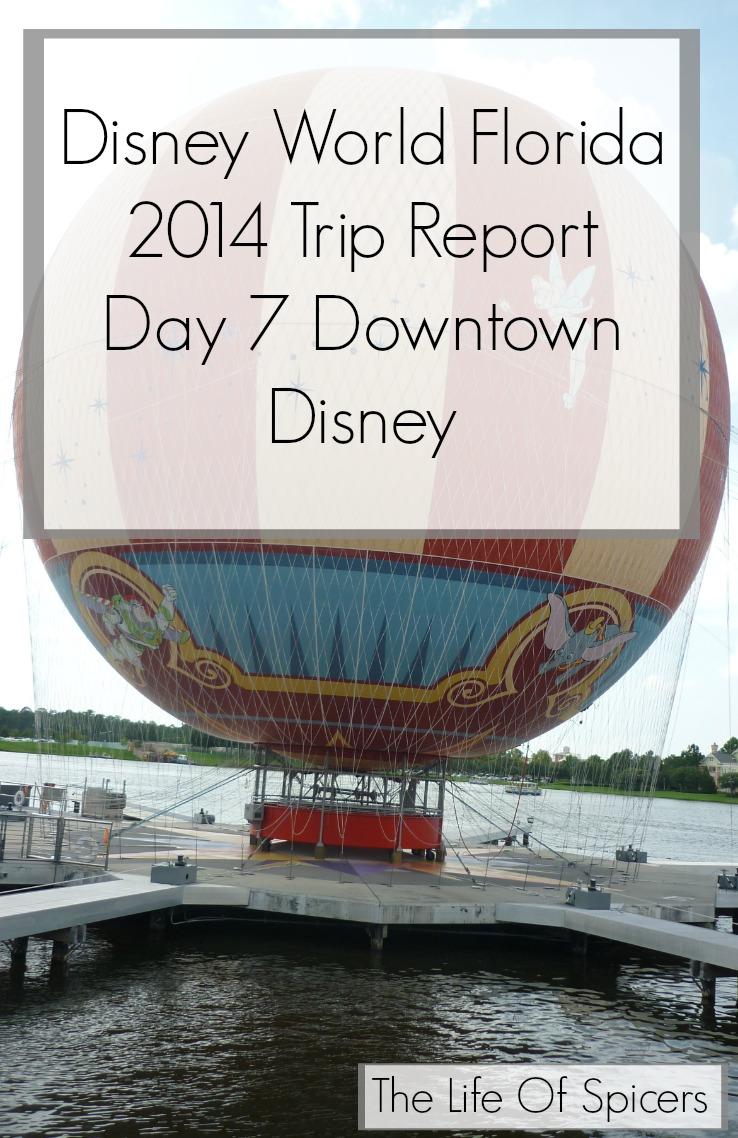 Disney World Florida 2014 Holiday Day 7 Disney Springs