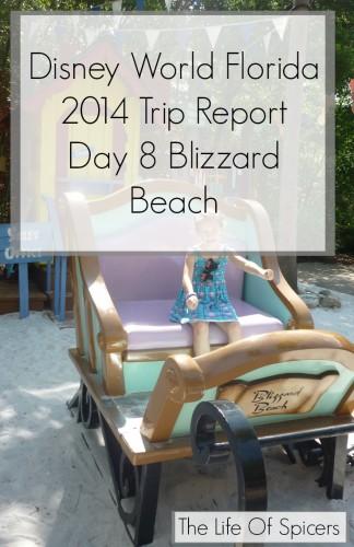 Disney World Florida 2014 Holiday Day 8 Blizzard Beach
