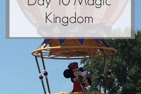 Disney World Florida 2014 Holiday Day 10 Magic Kingdom