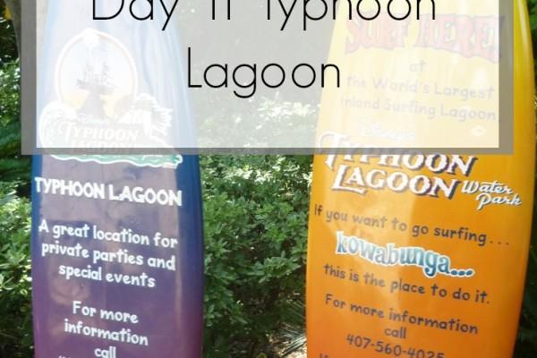 Disney World Florida 2014 Holiday Day 11 Typhoon Lagoon