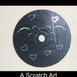 How To Make A Scratch Art CD Decoration