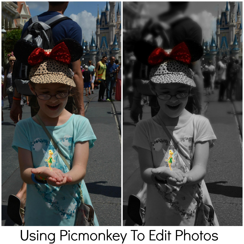 Using PicMonkey To Edit Photos