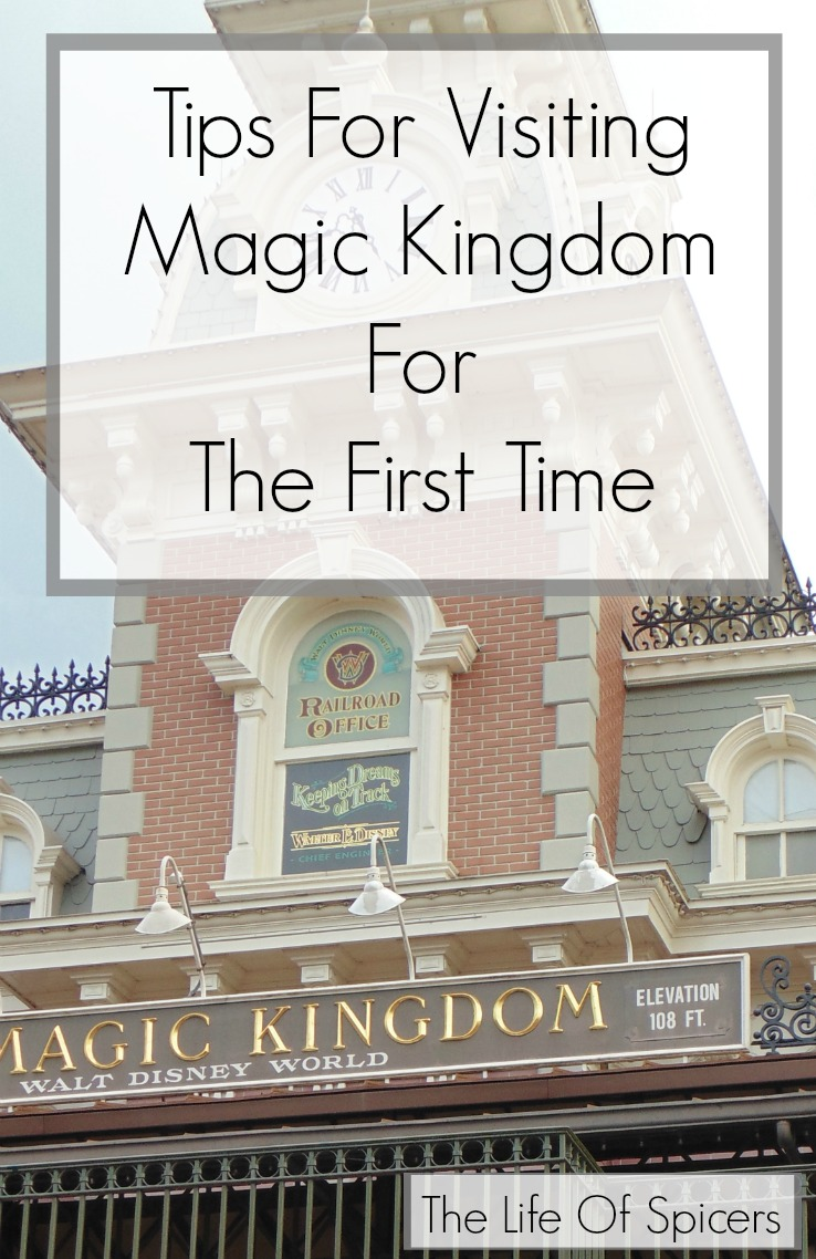 visiting Magic Kingdom for the first time