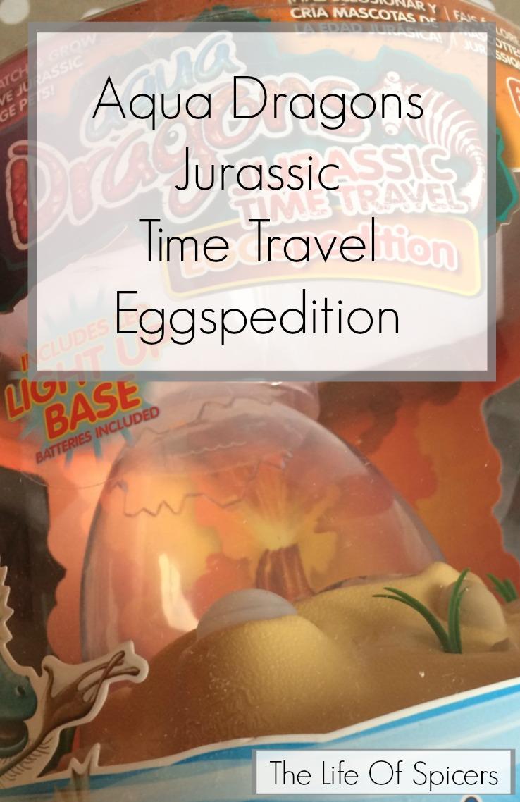 Aqua Dragons Jurassic Time Travel Eggspedition