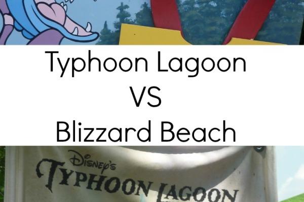 Typhoon Lagoon VS Blizzard Beach