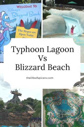 Typhoon Lagoon VS Blizzard Beach