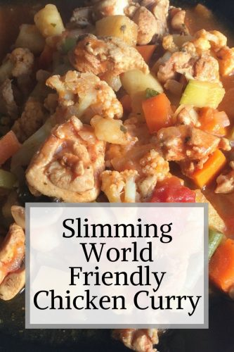 Slimming World Friendly Chicken And Vegetable Curry