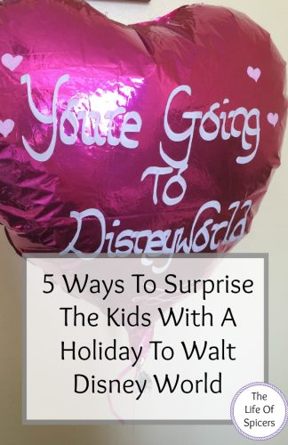 surprise the kids with a holiday to Disney World