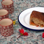 Apricot And Almond Sponge Pudding