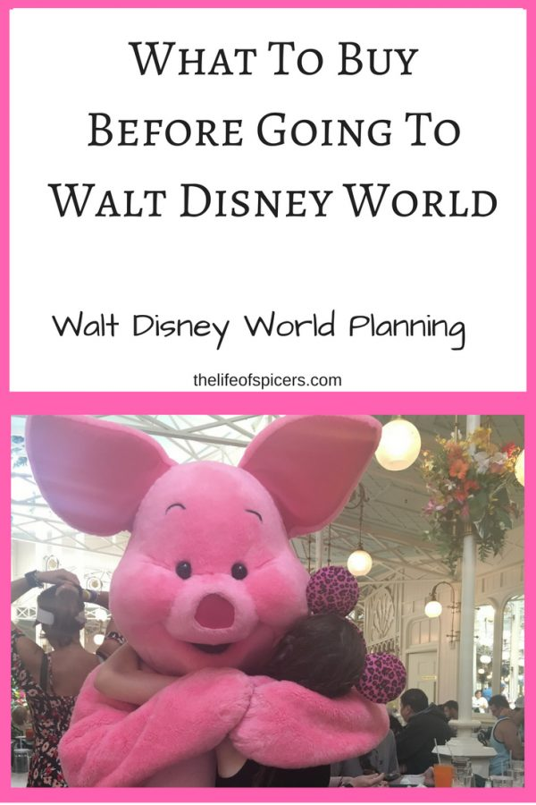 What To Buy Before Going To Walt Disney World