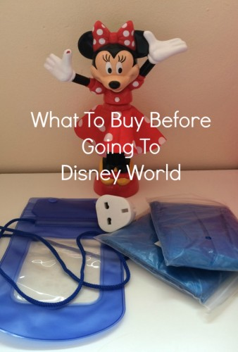 what to buy before going to Disney World