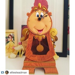 Repost elliesteadman with repostapp  WIN a Cogsworth clock! Enterhellip