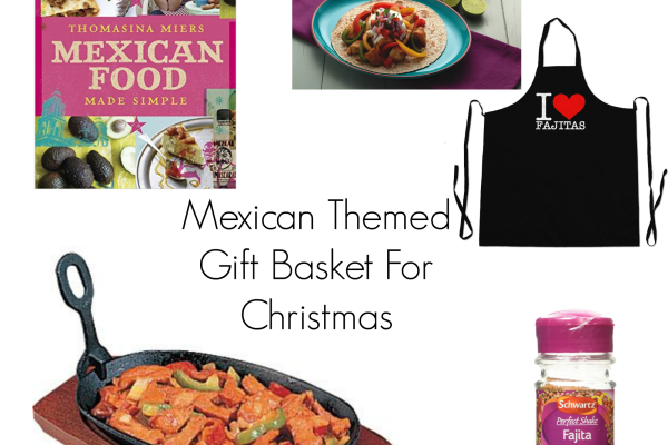 Mexican Themed Gift Basket For Christmas