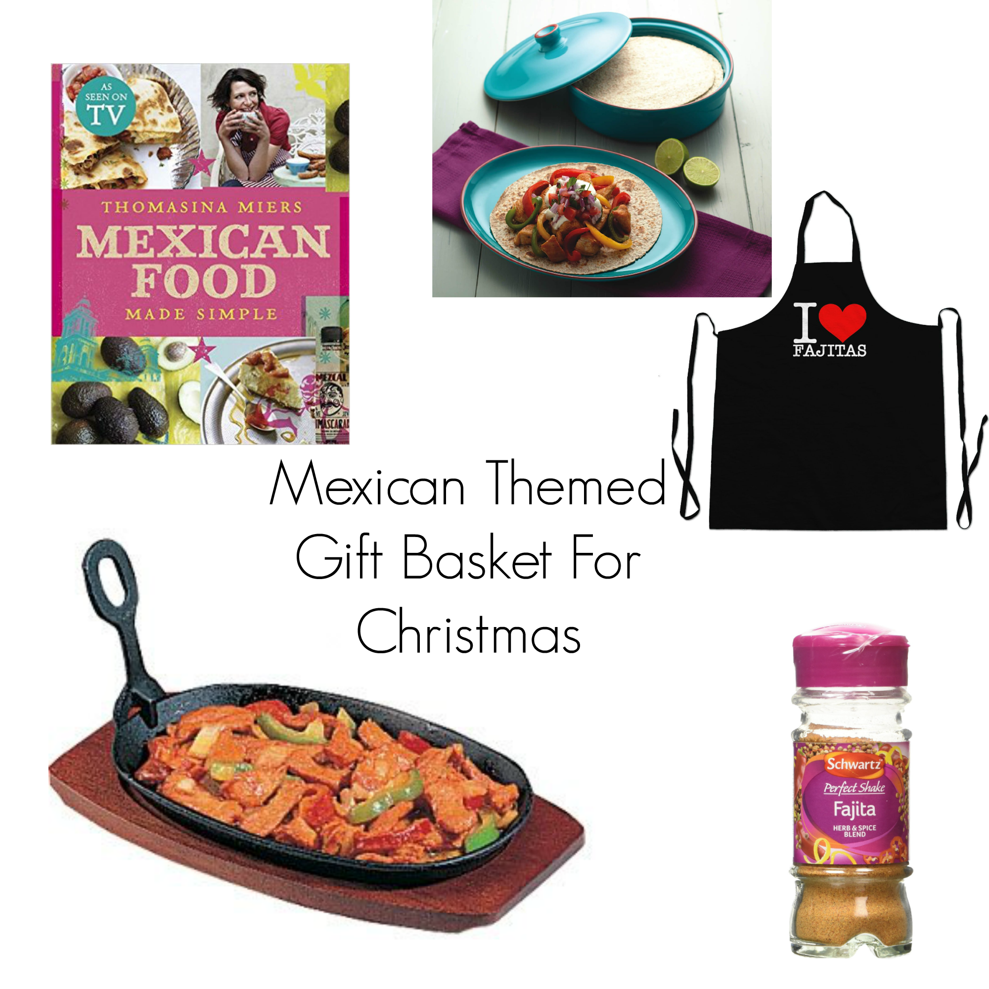 mexican themed gift basket for christmas the life of spicers