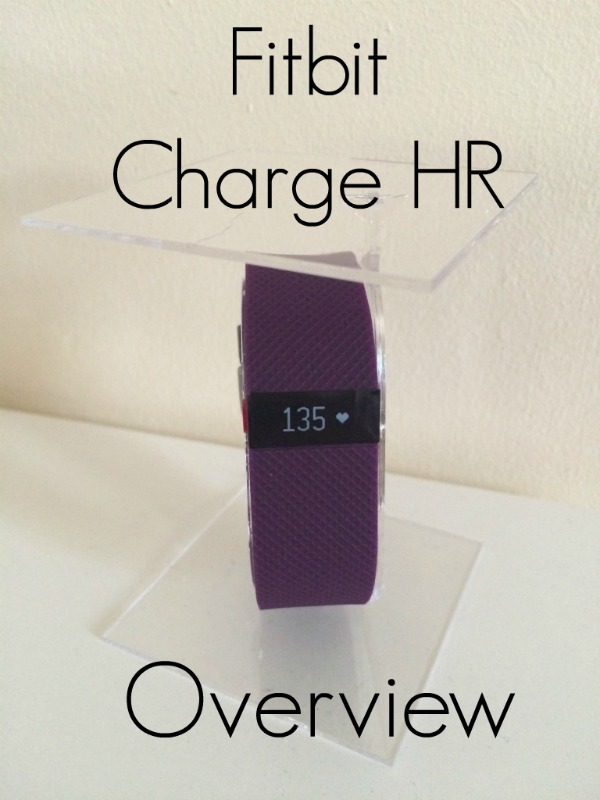 Fitbit Charge HR Overview