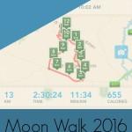 Moon Walk 2016 Training Diary Weeks 3 & 4