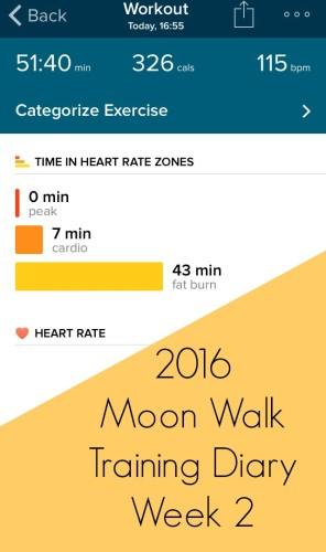 Moon Walk Training