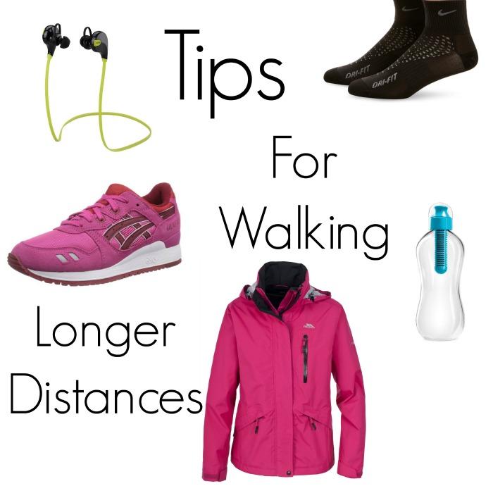 tips for walking longer distances