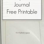 Disney Travel Journal – Free Printable