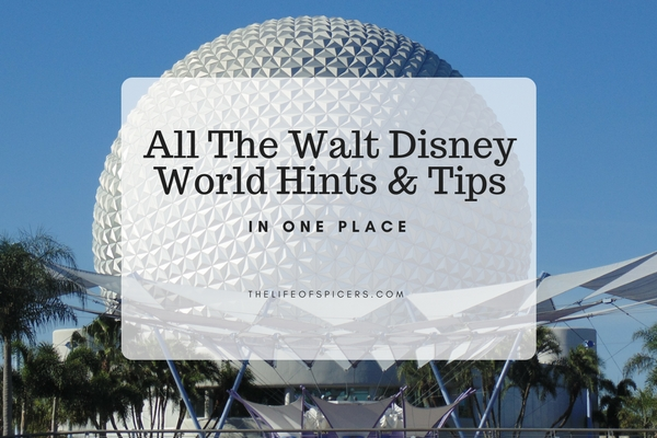 walt disney world hints and tips