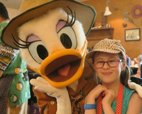 Walt Disney World Where To See Daisy Duck