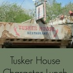 Tusker House Character Meal