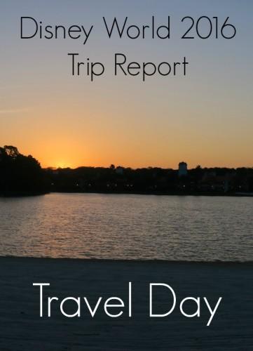 Disney World 2016 Trip Report - Travel Day