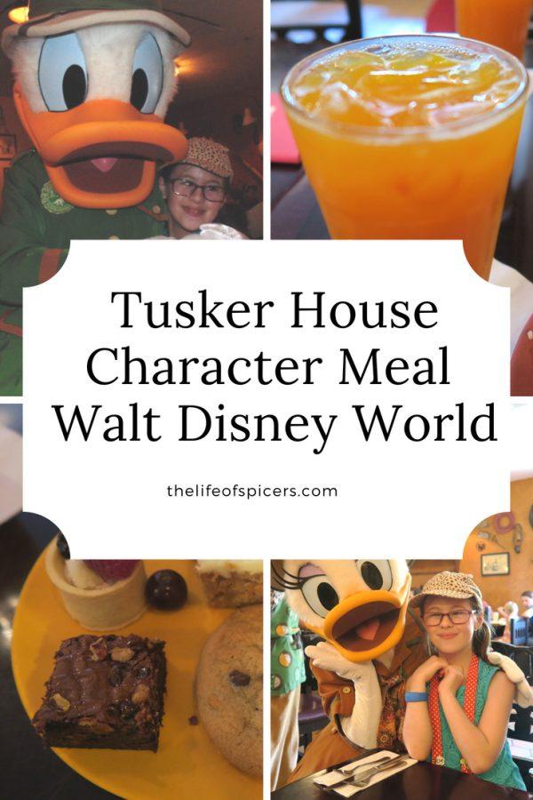 Tusker House character restaurant