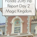 Disney World 2016 Diary – Magic Kingdom Day 2