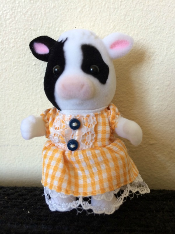 Sylvanian Families Friesian Cow Family