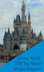Disney World 2016 Trip Report - Magic Kingdom