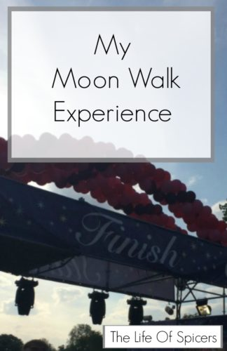 My Moon Walk Experience