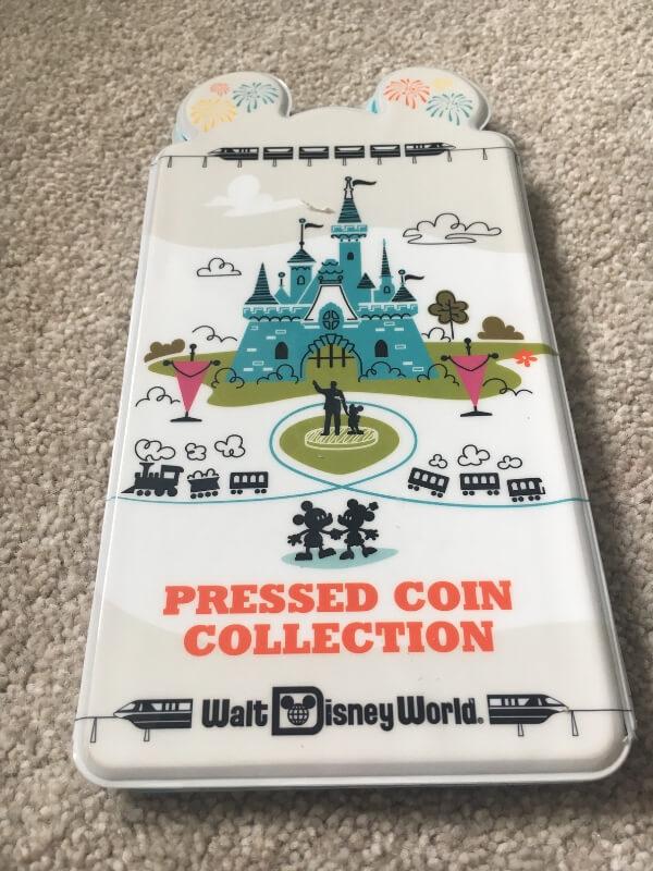 disney world pressed coin book