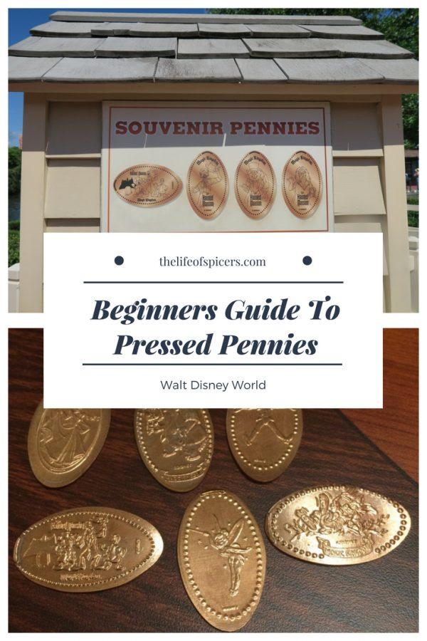 Disney World pressed pennies