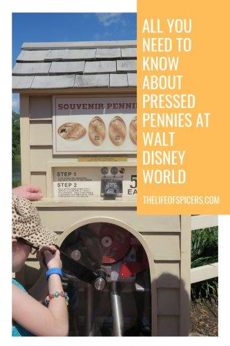disney world pressed pennies guide