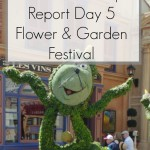 Disney World 2016 Diary – Flower And Garden Day 5