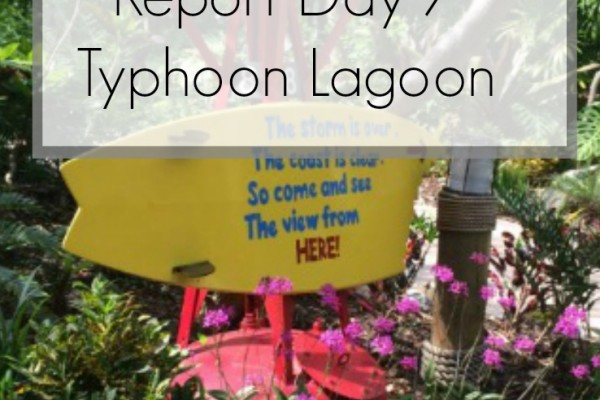 Disney World 2016 Diary – Typhoon Lagoon Day 7