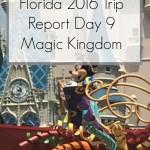 Disney World 2016 Diary – The Last Day – Day 9