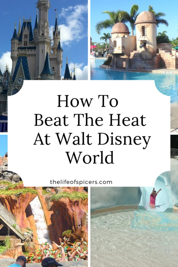 beat the heat at Disney World
