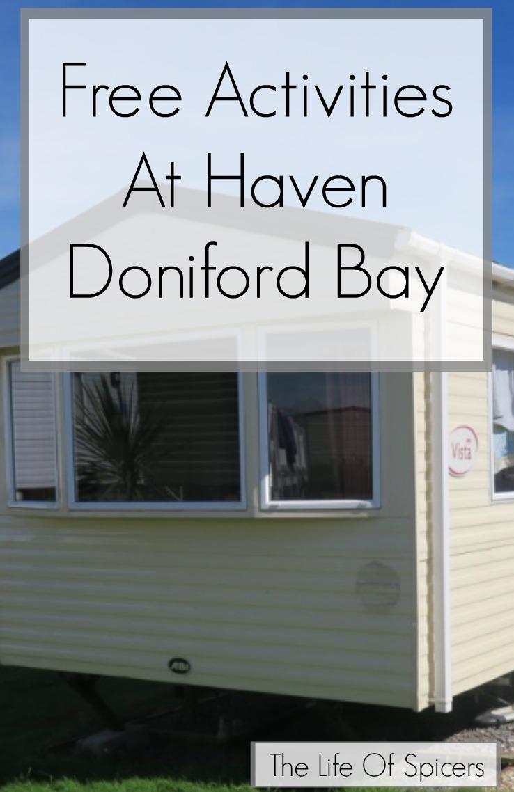 free activities at Haven Doniford Bay