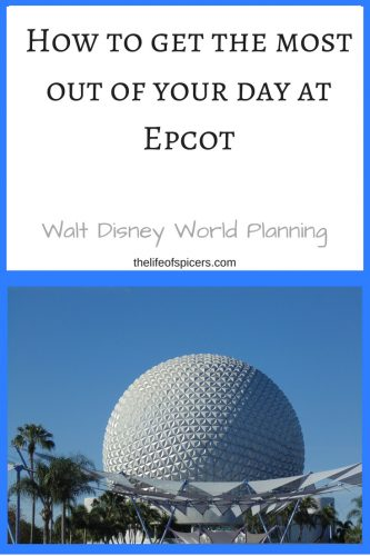 1st visit to epcot