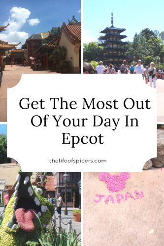 Visiting Epcot for the first time