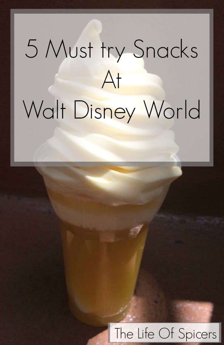 5 Must Try Snacks At Walt Disney World