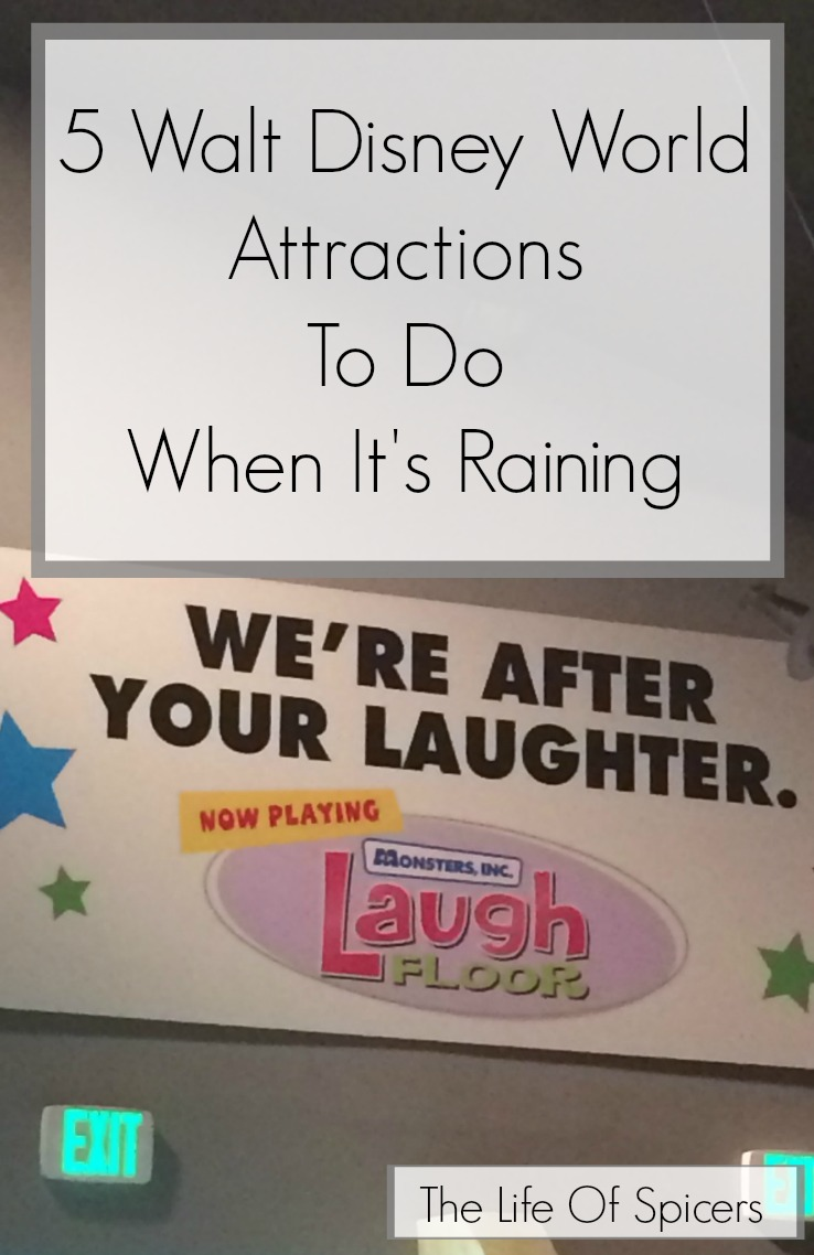 5 Walt Disney World Attractions To Do When Its Raining